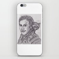 starlord iPhone & iPod Skins featuring Starlord by jamestomgray