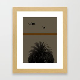 Palmtree Framed Art Print