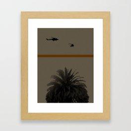 Palmtree Framed Art Print