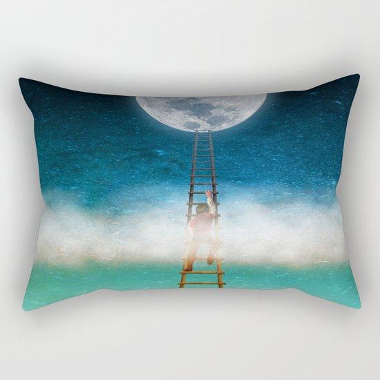Reach for the Moon Rectangular Pillow