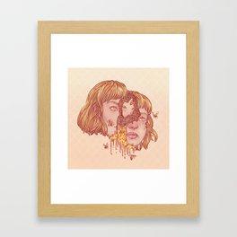 Jaune Framed Art Print