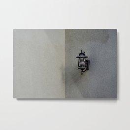 Minimalist Lamp Metal Print