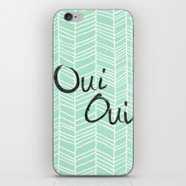 Oui Oui iPhone Skin