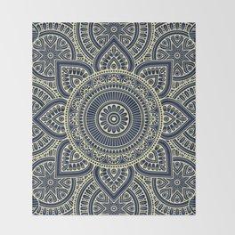 Mandala 3 Throw Blanket