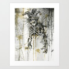 Wasted. Once Again.  Art Print