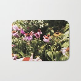 Summer in the Ether: Wild Flowers of Bright Pastures Bath Mat