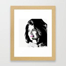 Jackie Lee Framed Art Print