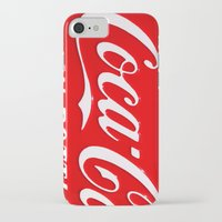 coca cola iPhone & iPod Cases featuring Coca-Cola by Kai Gee