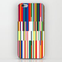 the national iPhone & iPod Skins featuring National Colors by Tom Davie