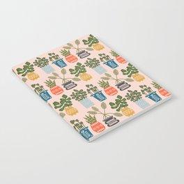 Plants in Pots Print Notebook