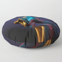 Passion Floor Pillow