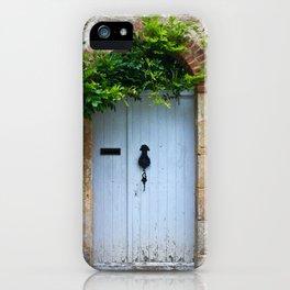 old door in France iPhone Case