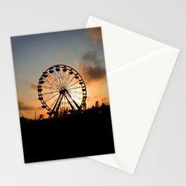 Sunset Ferris Wheel Stationery Cards