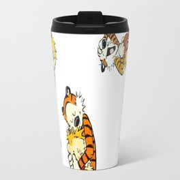 calvin and hobbes moment Travel Mug