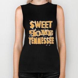 sweet home tennessee american t-shirts Biker Tank