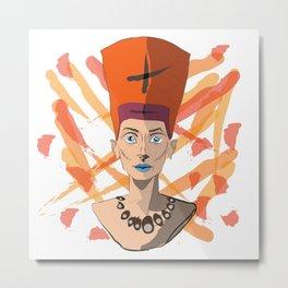 Nefertari Metal Print