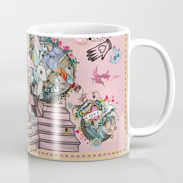Pink Rabbit tattoo love matrix Coffee Mug