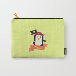Pirate Pinguin from MILAN T-Shirt for all Ages Carry-All Pouch