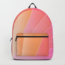 Gradient Fan - Summer vibes Backpack