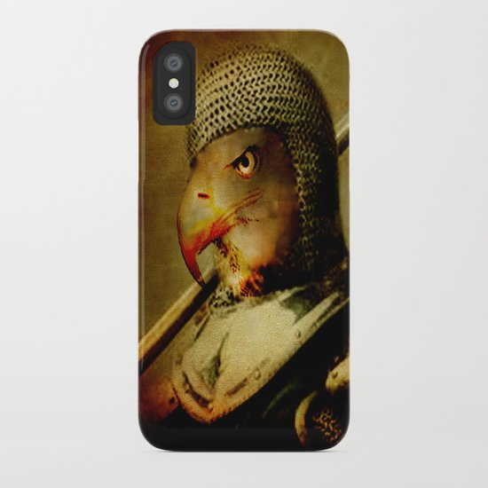 The eagle knight iPhone Case