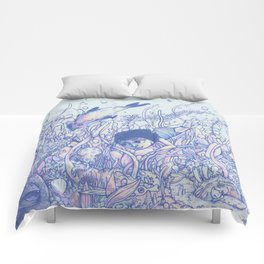 Explore to Discover Comforters