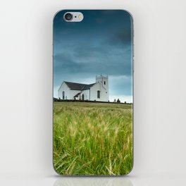 Ballintoy Church, Ireland,Northern Ireland iPhone Skin