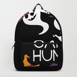 Halloween Ghost Candy Hunter Backpack