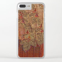 Falling leaves Clear iPhone Case