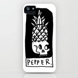 Pepper iPhone Case