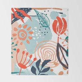 Essence of Spring Throw Blanket
