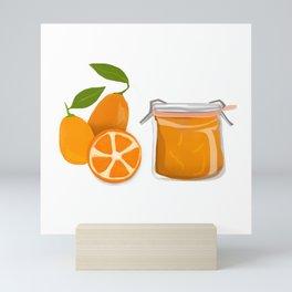 I Love Kumquats Mini Art Print