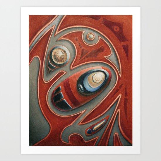 Thingy Art Print