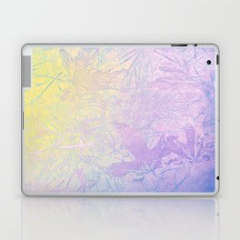 Golden Fall Watercolor Leaf Impressions Laptop & iPad Skin