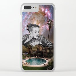Watched Clear iPhone Case