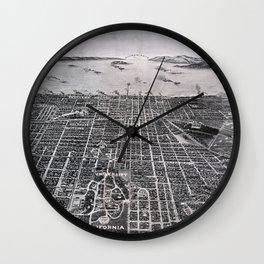 Berkeley - California - 1909 Wall Clock