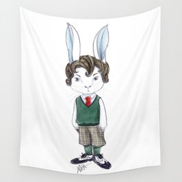 Mr Rabbit Wall Tapestry