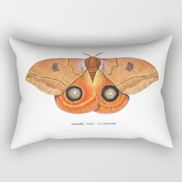 Randa's Eyed Silkmoth (Automeris randa) Rectangular Pillow