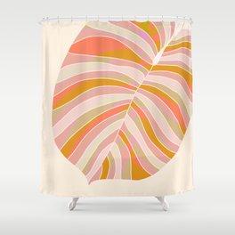 Tropical Leaf, 1975 Shower Curtain