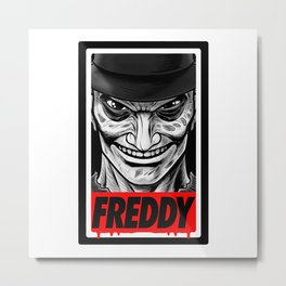 Freddy Metal Print