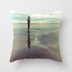Ill Met By Moonlight Throw Pillow