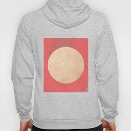 Imperial Coral - Moon Minimalism Hoody