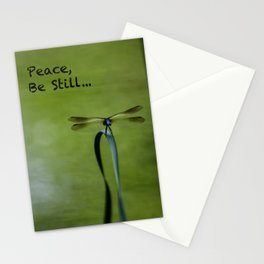 Finding Peace & Being Still Stationery Cards