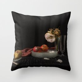 Still life of decay Throw Pillow