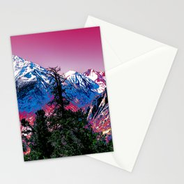 VIVID WINTER Stationery Cards
