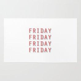 Fri-nally Friday Rug