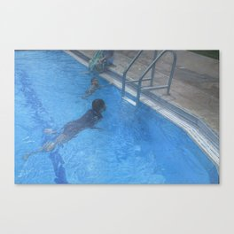 The Divers_painting Canvas Print