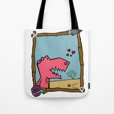 DINO GIRL   Tote Bag