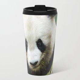Painting Panda Bear Long Hui Travel Mug
