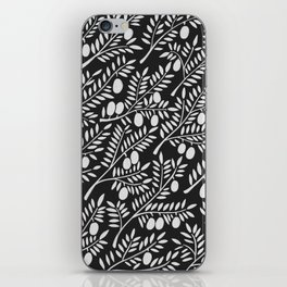 White Olive Branches iPhone Skin