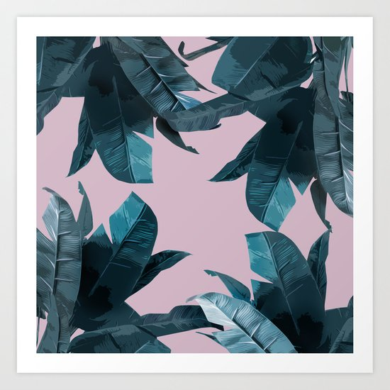 Tropical Palm Print #2 Art Print